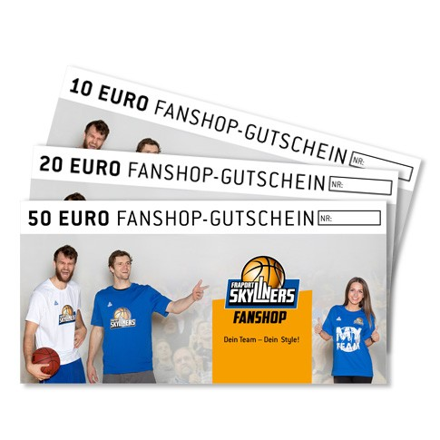 Fanshop Gutschein