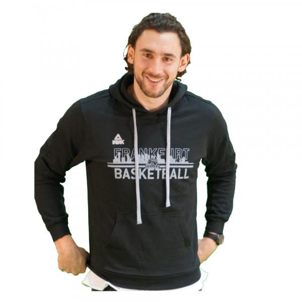 Hoodie Frankfurt Basketball Schwarz