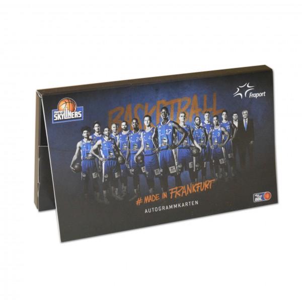 Autogrammkarten-Set Saison 17/18 *NEU*