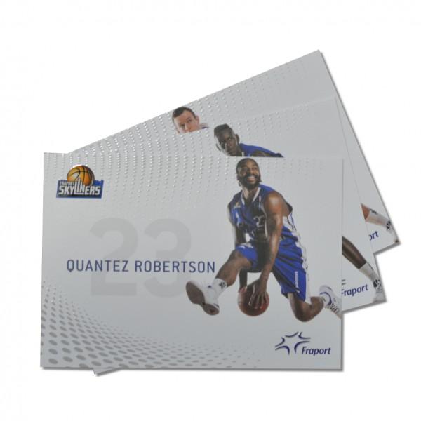 Autogrammkarten-Set Saison 16/17